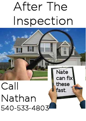 We make inspection repairs